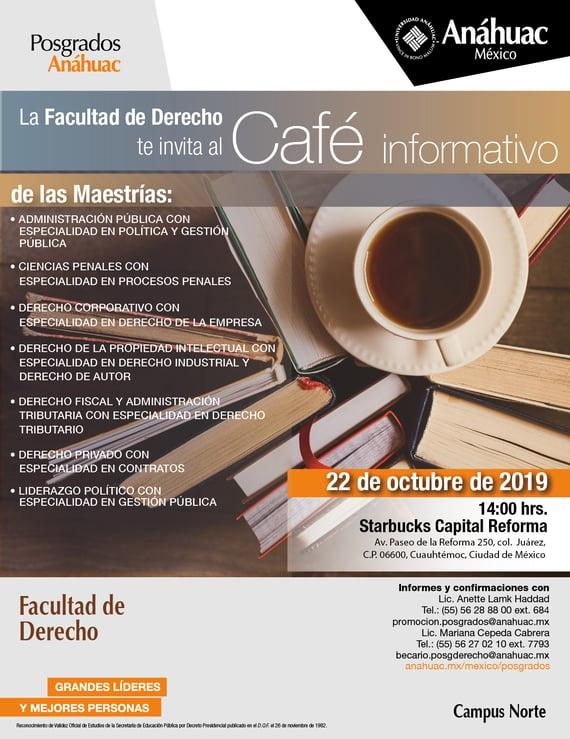 Cafe Derecho 22 oct-01