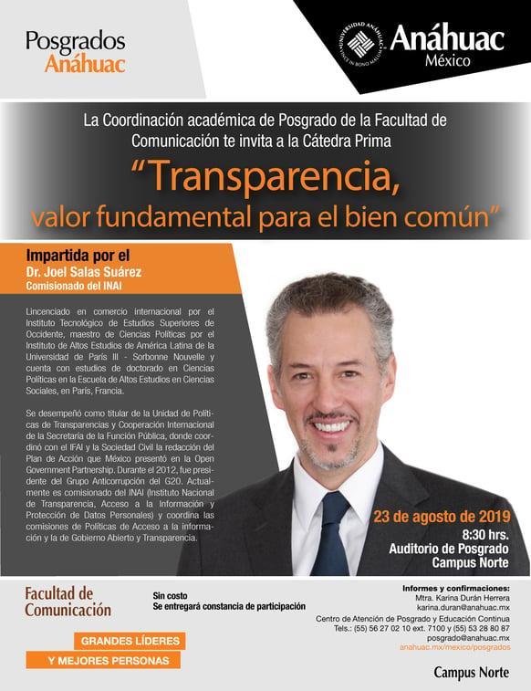 Flyer Conferencia magistral Tranparencia (1)